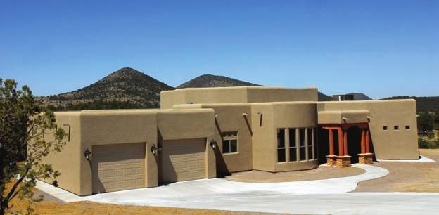 Adramatic entry showcases this residence, also sponsored on the tour by 1st New Mexico Bank.