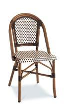 AC3501N01RAT Dining Sidechair, Stackable Dining