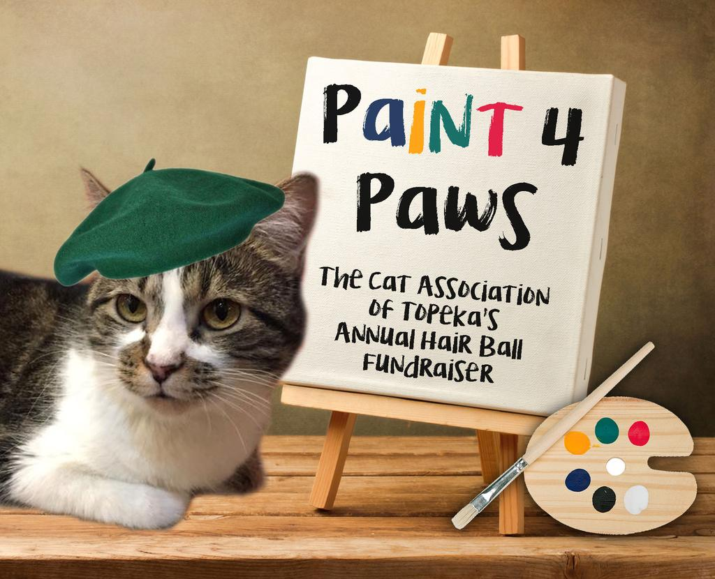 Calling All Artists! We have chosen an art theme for next fall s Annual Hair Ball! We would like to feature local talent by having portraits of our cats for the center pieces.