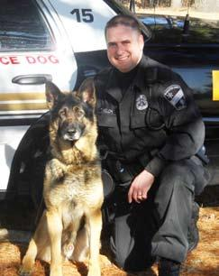 K9 Yako 2000-2012 Windham County Sheriff s Department 2005-2008 Brattleboro Police Department 2008-2009 July 2, 2001 to October 29, 2012 Inspector Jason O Brian, Handler K9 Yako and Jason would never