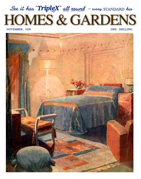 In November 1938 the English fashion magazine Homes &