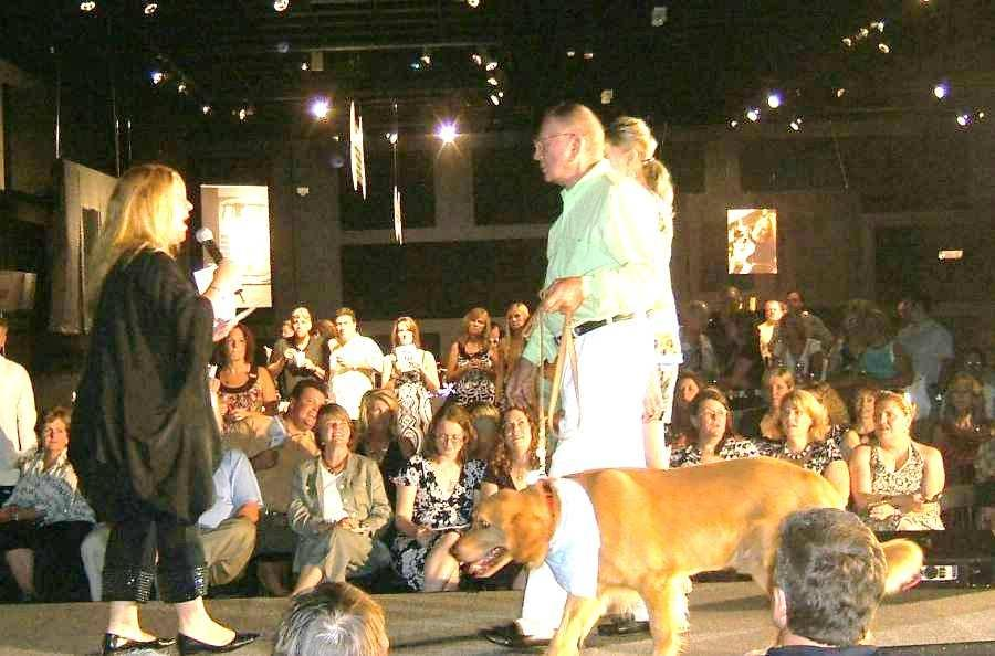 Recent events continued Dogs & Duds Celebrity Fashion Show On July 20th, Devon and I were invited to a Celebrity Fashion Show at Kemp Auto Museum.