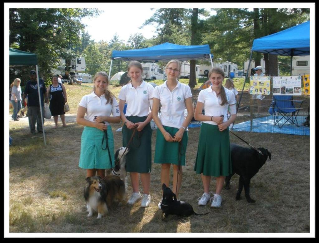 Enrolled 4-H Members and their dogs Why?