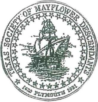 Date: Fall 2017 Dear Applicant, The Texas Society of Mayflower descendants will be offering two scholarships to qualified graduating seniors who will be attending a school of higher learning in the