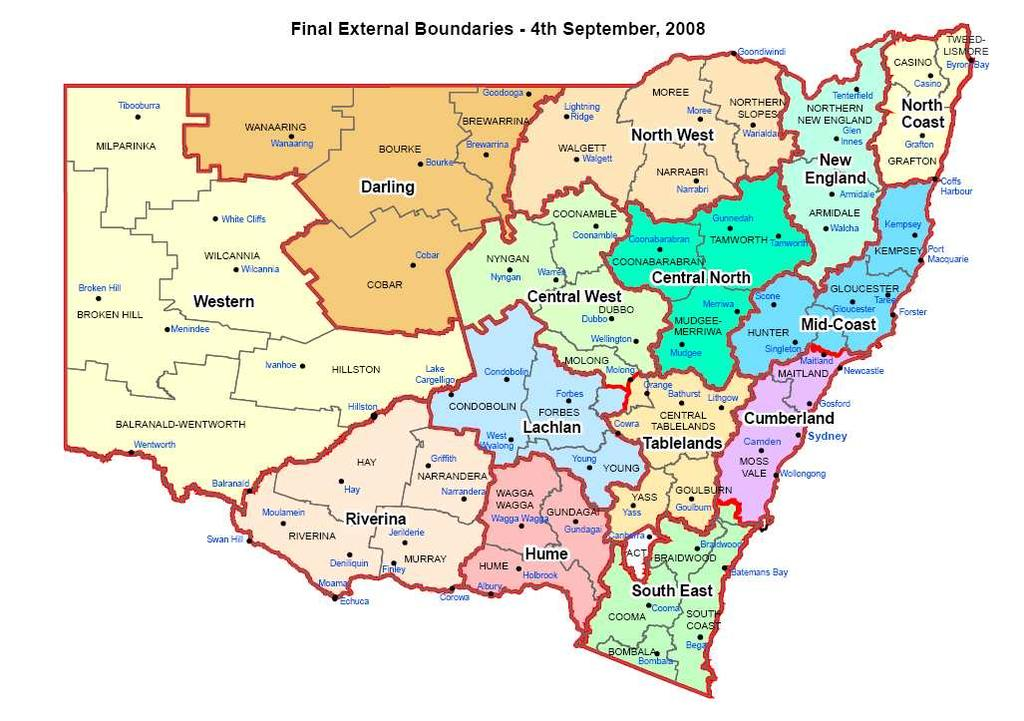Resistance in your backyard? Recent work in Central West, Lachlan and Hume LHPAs Map of NSW showing Livestock Health and Pest Authorities (LHPA) boundaries [www.lhpa.org.