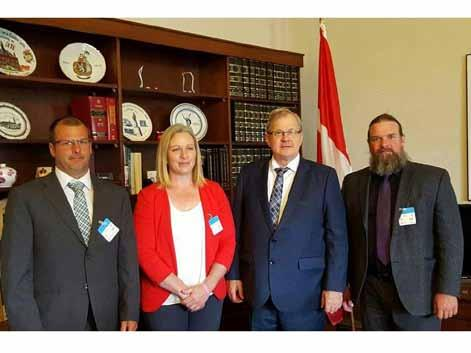 Government Relations Bill C-274 The Canadian Sheep Federation has been diligently communicating with Members of Parliament on industrygovernment partnerships for the sheep sector.