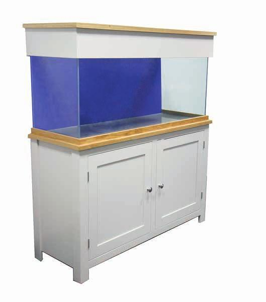 The new wooden range from Clear-Seal offers a top quality English made base in oak or a standard painted finish in stone, topped off with a Clear-Seal aquarium.