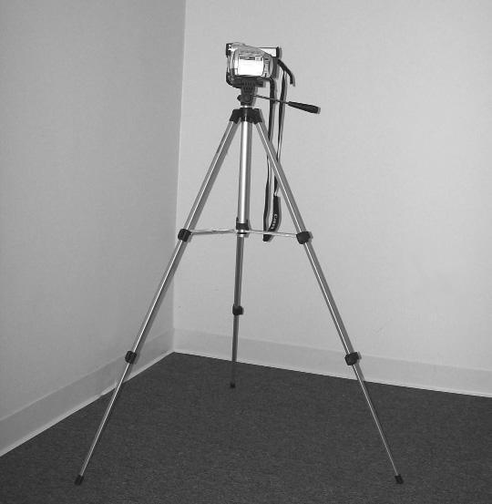 Video camera and tripod Record every assessment!