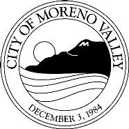 CITY OF MORENO VALLEY COMMUNITY DEVELOPMENT DEPARTMENT ANIMAL SERVICES DIVISION RESCUE / ADOPTION PARTNER ORGANIZATION AGREEMENT The City of Moreno Valley (City) is committed to working with RESCUE /
