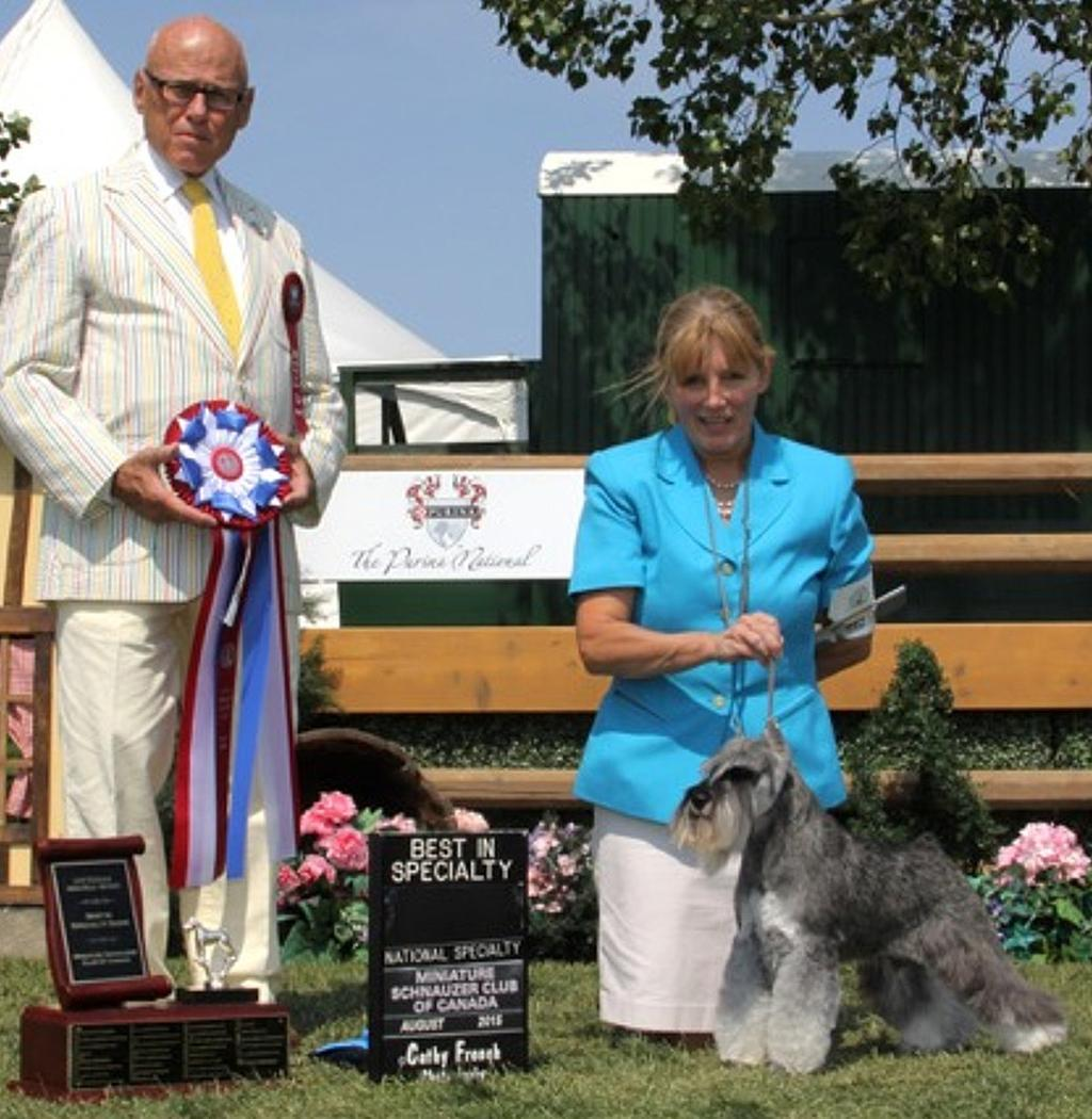 Spruce Meadows, Calgary, Alberta. Our Specialty was judged by Mr. Edd Bivin from Texas, USA.