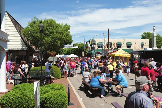 For 30 years, the Dogwood Festival has featured an Arts and Crafts Show in Downtown Perry.