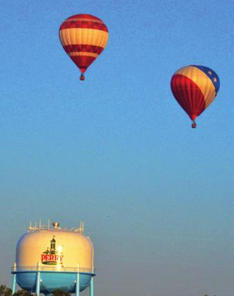 balloon layout, inflation, flight and deflation and