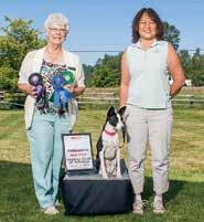 5/200 July 14 R ally Trial The BCOA National Specialty Rally Obedience Trial was also on Sunday morning, with judge Mary Jane Shervias.