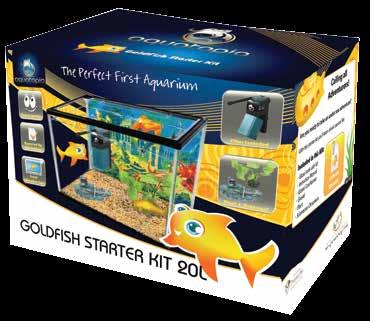 40 GOLDFISH Starter Kit 20L 29.