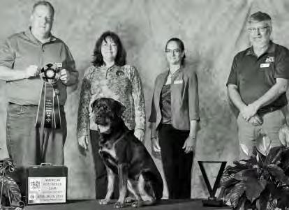 THE 1ST ANNUAL JENNIFER LIND KELLEY MEMORIAL TRIATHLON The ARC Triathlon Rottweiler of the Year is awarded to the