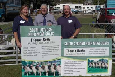 Although he is nearly 82 Theuns has the mind and attitude of someone much younger and he used his vast knowledge to help breeders understand what they should be breeding for.
