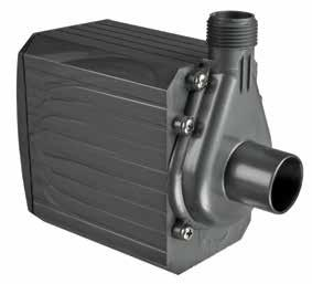 AQUA-MAG MAGNETIC DRIVE WATER PUMPS EFFICIENT MAGNETIC DRIVE TECHNOLOGY SUPREME AQUA-MAG 2 TO 36 SERIES PUMPS have been designed to handle virtually any application where water has to be moved.