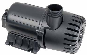 HYBRID SUBMERSIBLE/INLINE HY-DRIVE PUMP FOR FRESHWATER AQUARIUMS FEATURES Powerful, Efficient Hybrid Magnetic/Direct Drive Motor Energy-Efficient to Reduce Operating Cost Whisper-Quiet Operation