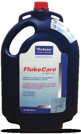 FlukeCare + Se FlukeCare +Se For the treatment and control of benzimidazole sensitive mature and immature roundworms, lungworms and early immature (including 2 week old fluke), mature and immature