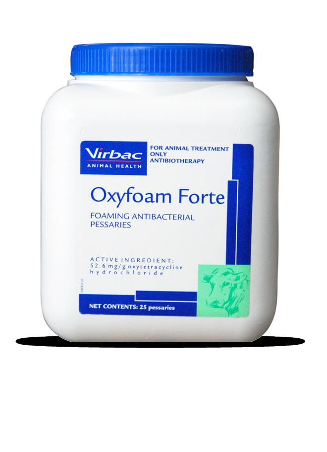 For use in the treatment of abortion, retained placenta, endometritis, and pyometritis, when oxytetracycline sensitive organisms are present.