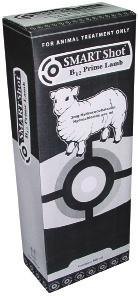 SMARTShot B 12 Prime Lamb SMARTShot B 12 Prime Lamb An oily suspension specifically formulated for treating lambs, but also suitable for ewes and calves, containing 3mg/mL hydroxocobalamin