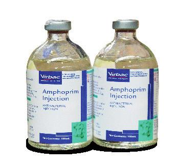 Amphoprim Injection Amphoprim Injection Contains 4g Trimethoprim & 20g Sulphadimethyl Pyrimidine.