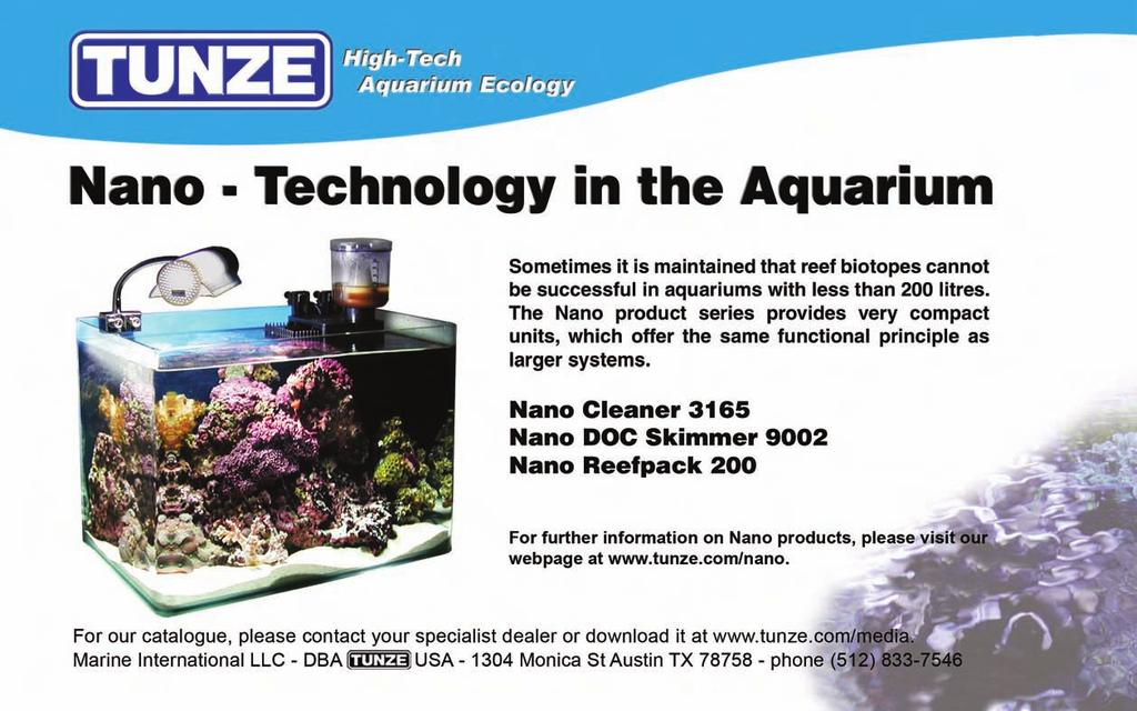 The protein-containing aquarium water diffuses into the skimmer through the opening in the bottom and on the rear, which is gentle to the plankton, thus suitable in particular for breeding tanks with