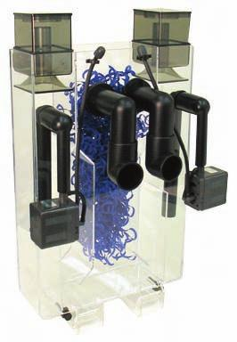 CPR Bak-Pak Dual Pak CPR Bak-Pak 2R Reef Ready FILTERS AND FILTER MEDIA Protein Skimmers The Dual Pak provides a complete hang-on filtration unit for tanks up to 100gal that
