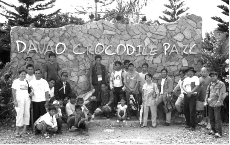 discussions and lectures about crocodile conservation, the respondents were given a tour to the Davao Crocodile Park for exposure and confirmation about the looks and sizes of the crocodiles sighted,