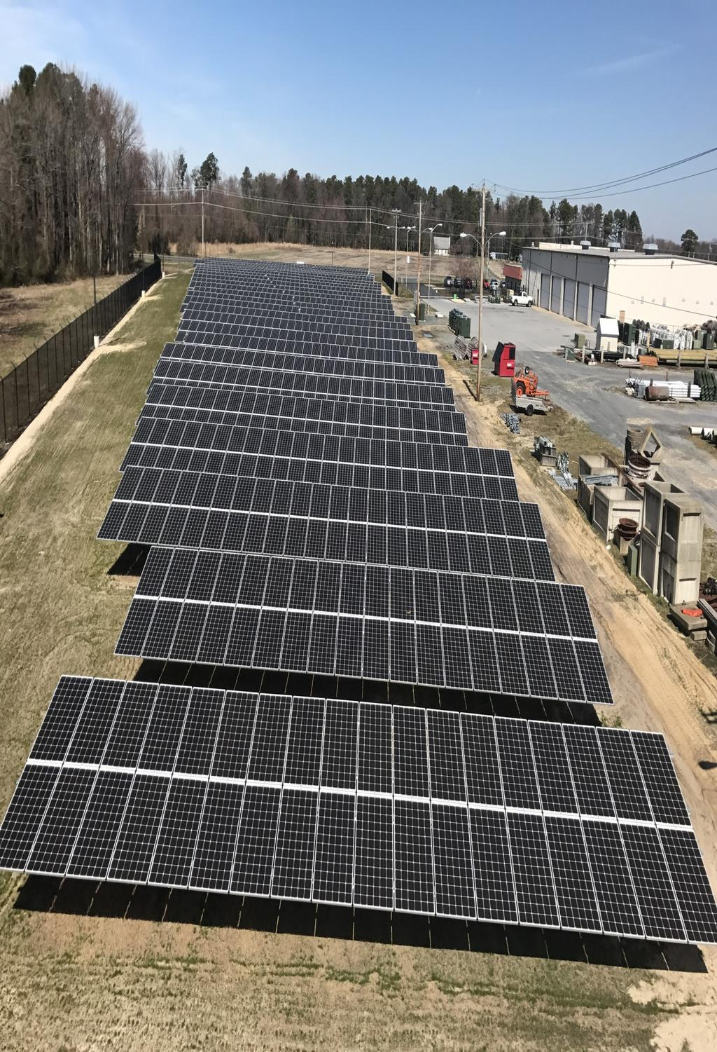 Solar Array Project Completed The City of Seaford has completed a solar array located at 8000 Herring Run Road that was designed to offset electrical cost for the City of Seaford Waste Water