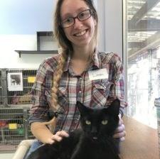 Making a difference, learning and being around animals, are Leah s favorite reasons for volunteering.