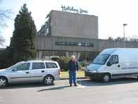 Going Home Friday March 24 We said Goodbye to our hippie friends, the Holiday Inn,