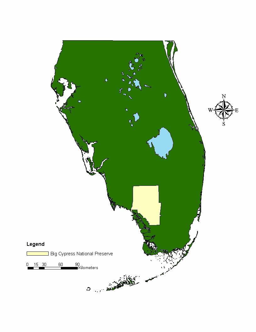 Figures Figure 1: Map of Florida showing