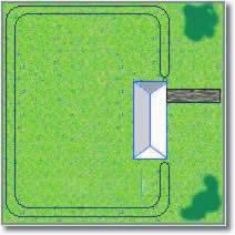 Double Loop - Back Yard Zone Double Loop - Front Yard Zone Your pet has run of the house and back yard. Your pet has run of the house and front yard.