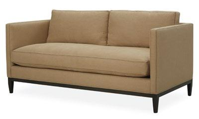 3 5 hamlet Fully upholstered or with slipcover. Exists also in sectional, armchair and pouf. d: 89 cm x h: 89 cm.