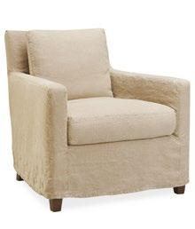 asheboro Fully upholstered or with slipcover. Available with swivel. Exists also in pouf.