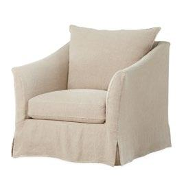 louisburg Upholstered with slipcover. Available with swivel. Exists also in sofa.
