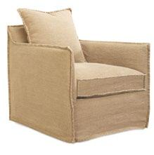 norwood Upholstered with slipcover or fully upholstered. Available with swivel or gliders.