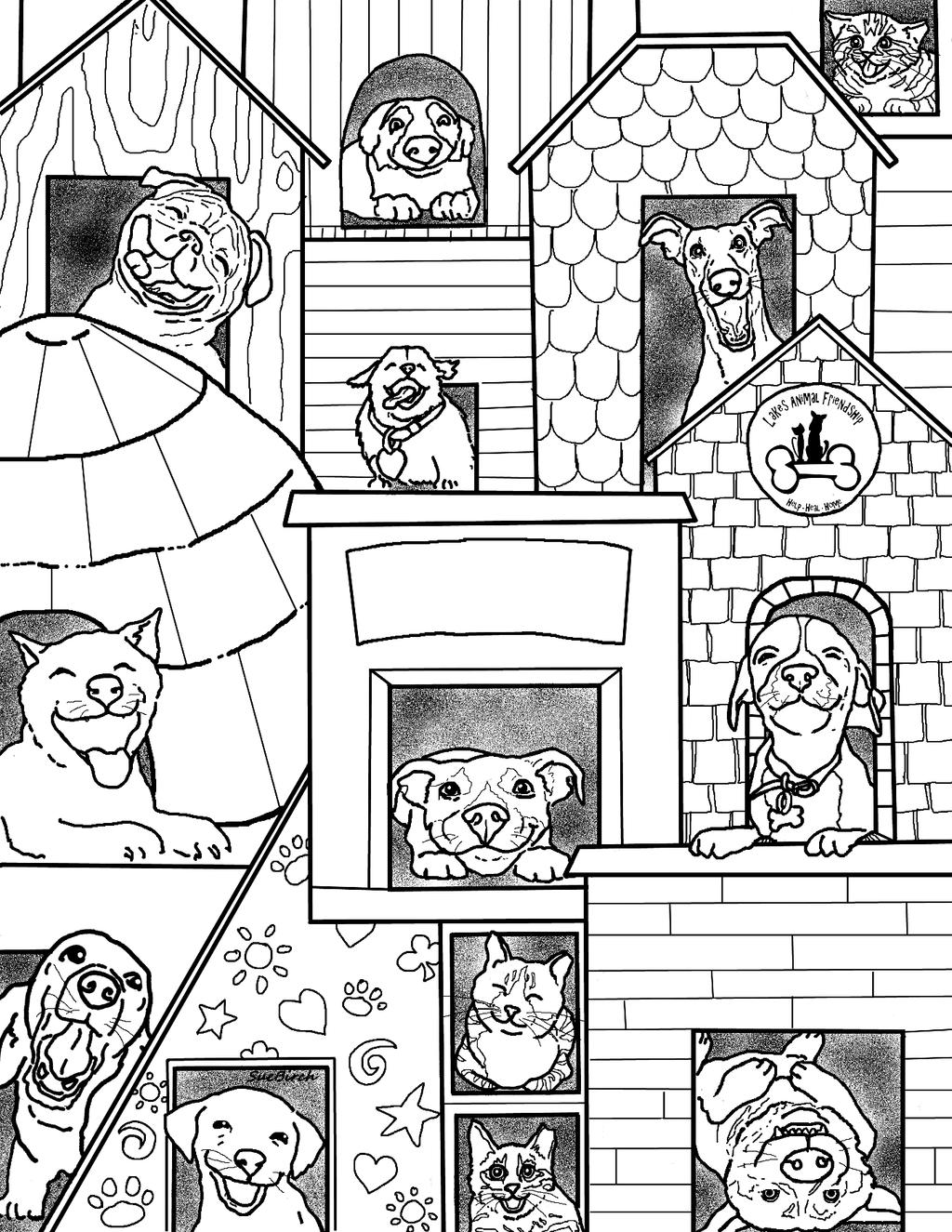 This fantastic colouring page was created by Sue Birch of Community Cat Movement: http://www.