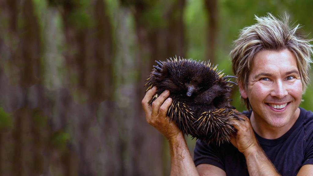 wild child Zoologist Chris Humfrey s passion for animals has no limits.