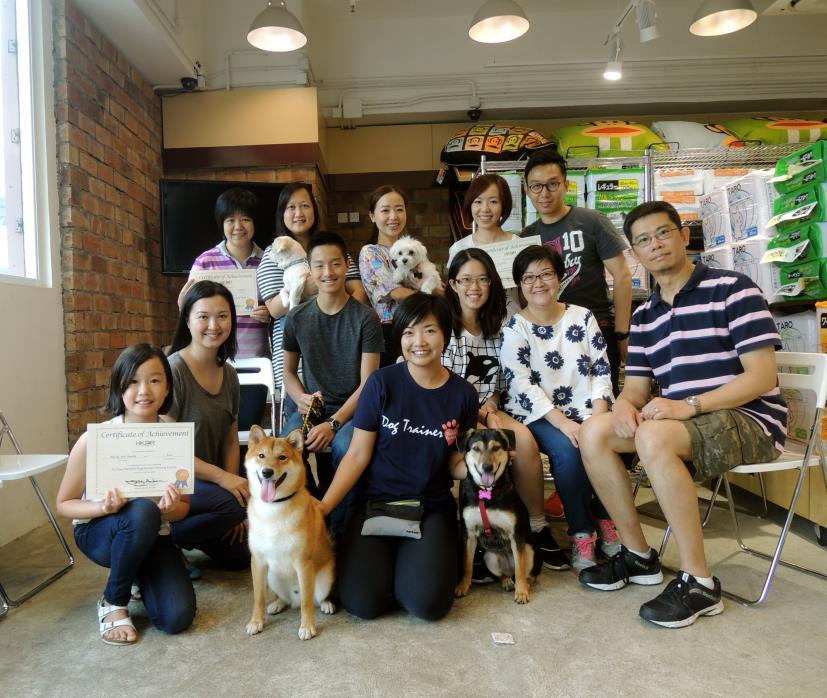 HKDR also runs monthly Positive Partners dog-human