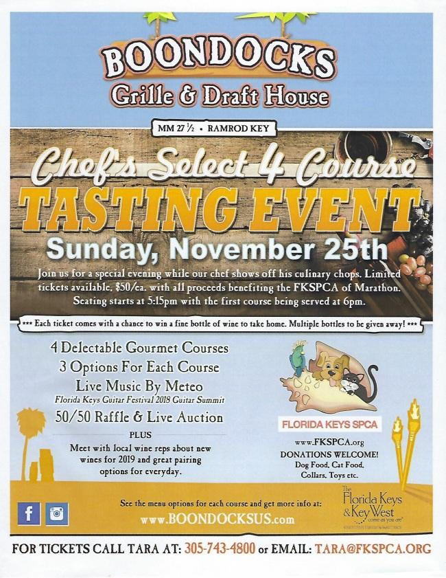 Gourmet Sunday 11/25 Get your tickets for a FOUR-COURSE tastebud-tempting dining experience!