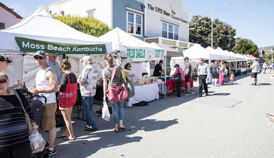 Pacifica: Is the farmers market all about produce or do you have more in mind?