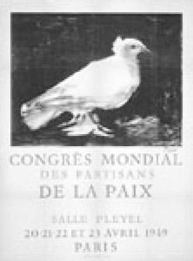 The symbol of the dove was not restricted to the branch of peace activism based on the bible, it has spread all over the world.