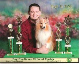 Since 1999 Matt has been showing his dogs in competitive dog sports (Flyball, Agility, Herding and Rally) as well as doing in-home behavioral lessons, but his main focus has been on Competitive