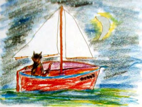 Ode to Oona: 3 Oona, Oona, Oona Set sail in a bright red schoona If she hadn t followed the silvery moona She d have