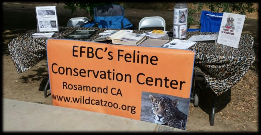 EFBC and CALM have supported each others facilities for many years.