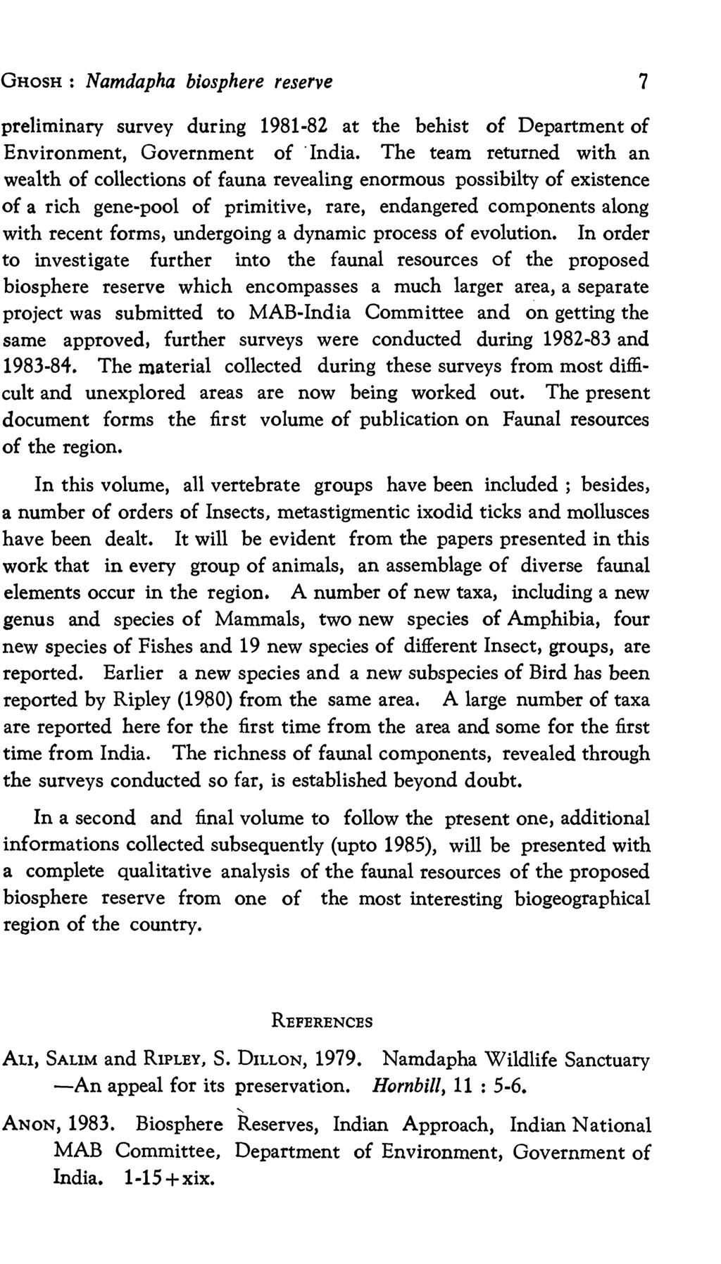 Records Of The Zoological Survey India Pdf Expedition E6661 Silver Black Red Men Original Ghosh Namdapha Biosphere Reserve 7 Preliminary During 1981 82 At Behist